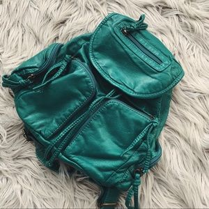Bueno Teal Boho Backpack